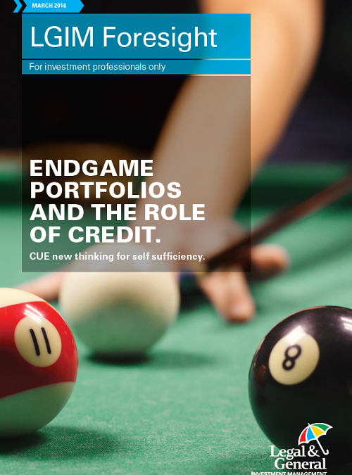 Endgame portfolios and the role of credit