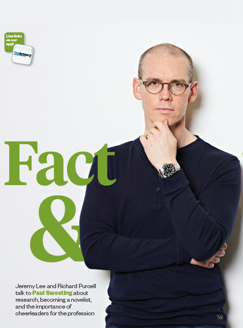 Paul Sweeting: Fact and Fiction – The Actuary